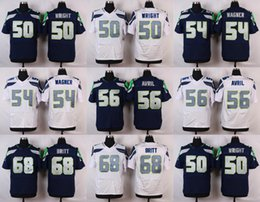 Wholesale 2016 Elite News Mens Jerseys K J Wright Bobby Wagner Cliff Avril Justin Britt Stitched Jerseys Free Drep Shipping