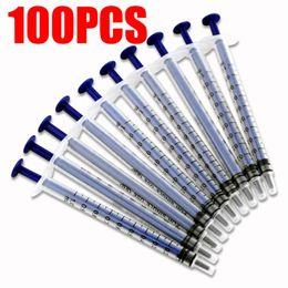 Wholesale 100PCS Disposable Plastic Syringe Injector ml For Measuring Nutrient Pet Feeder