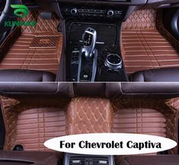 Wholesale Top Quality D Car Floor Mat For Chevrolet Captiva Foot Mat Car Foot Pad Colors Left Hand Driver Drop Shipping KF A2209