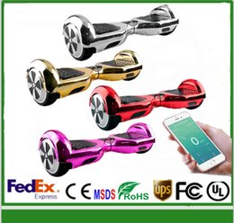 stock CN chrome scooter without bluetooth Smart Balance Two Hoverboard Electric hoverboard Electric Scooter Two Wheel Balancing Good Quality