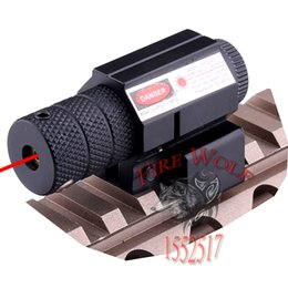 Wholesale 835 nm Tactical Red Dot Laser Sight Scope w Mount mm Picatinny Rail Mount x Wrench For Gun Rifle Pistol Hunting Optics