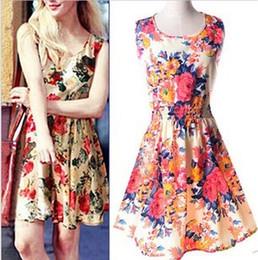 Недорогие летние платья с принтом