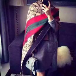 Wholesale 2016 Lady Fashion Winter Printing Colorful Shawls Girls Big Scarves