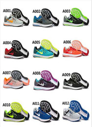 Wholesale ZOOM WINFLO Running Shoes Double Color Stitching Knitted Jumper Wire Low Sports Shoes For Running Shoes