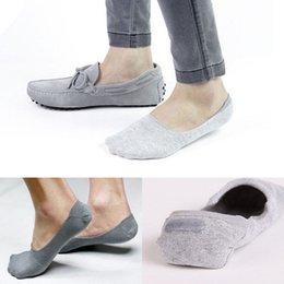Wholesale Summer Men Casual Boat Socks Bamboo Fiber Non Slip Silicone Invisible Ankle Socks AliExpress Explosion Models