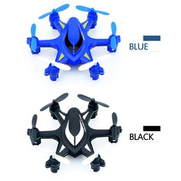 Wholesale New arrivals RC Hexacopter HJ W609 Axis Gyro CH G with LED Light D Inverted Flight BLACK by DHL