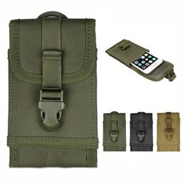 Wholesale Fashion quot Tactical Military Molle Cell Phone Pouch Case Belt Loop for iPhone6 Plus S