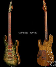 Wholesale Top Quality Hot Sale Factory Suhr Collection Waterfall Burl Model Electric Guitar