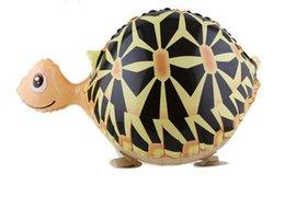 Wholesale Aluminum balloon balloon pet balloon balloon manufacturers walking pet turtle
