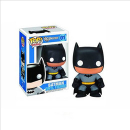 New Funko POP Super Heroes Earth Batman PVC Action Figure Toy Birthday Gift For Children Free Shipping