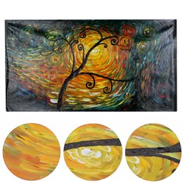 Wholesale 60 cm Frameless picture on wall acrylic oil painting by numbers abstract drawing by numbers unique gift paint for home decor