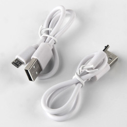 USB Cable Mirco Cable for Android Smart phone Mirco USB Charge Cable Cord For USB E Cigarette Battery Samsung HTC Nokia SonyWhite DHL Free