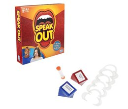 Wholesale Speak Out Game For Baby Boys and Girls Interesting Family Party Speak Out Board Game Baby Toys Hot Selling