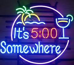 New Its 500 Somewhere Glass Neon Sign Light Beer Bar Pub Arts Crafts Gifts Lighting 22""