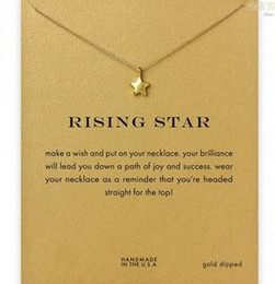 Dogeared Necklace with star (resing star), silver and gold color, no fade, free shipping and high quality.