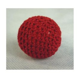 Red magnet ball 3.1cm dia. Use for Magnet cup, Metal stage magic magic props