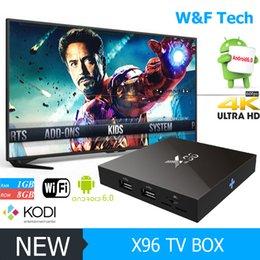Original X96 Android 6.0 Marshmallow Android TV Box Custom KODI 16.1 Loaded Wifi HDMI 2.0 1GB 8GB Better MXQ PRO