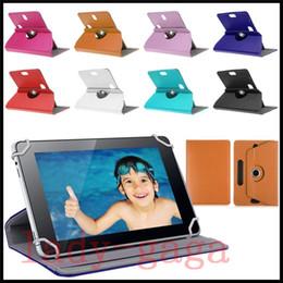 Étuis universels pour tablette Étui rotatif à 360 degrés Housse en cuir en cuir PU 7 8 couvertures Flip Flip 10 pouces à partir de nexus rotation étui en cuir fournisseurs