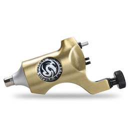 Tattoo Machine Aluminum Frame Golden Color Swiss Motor Gun Rotary Motor Gun for Liner Shader wjc-7-4