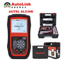 Wholesale AUTEL AutoLink AL539B OBDII and Electrical Test Tool with AVO Meter advanced Original AL539 Car Scan Tool