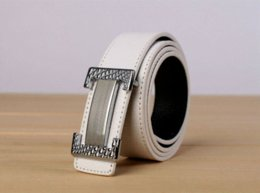 Free shipping 1PCS Fashion Carved Buckle Genuine Leather Belt at various colour Cheap belt bag leather