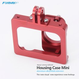 Wholesale Promotional Products for China Suppliers High Quality CNC Aluminum Alloy XiaoYi Mini Case for Xiaomi Yi Camera Accessories