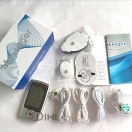 Wholesale Best TENS And EMS Combination Unit Muscle Stimulator Full Body Pain Relief with Dual Channel
