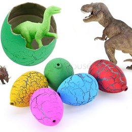 Wholesale 60PCS Riverstones Water Magic Dino Egg Hatching Growing Dinosaur Cute Children Kids Toy For boys dvd flying frozen