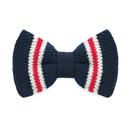 Wedding Blue Red White Bow Tie Men's Tuxedo Party Adjustable Business Casual Bow Tie Gift Box Fashion Accessories F-330