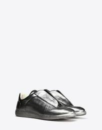 Wholesale Favorite Designer Brands Mens Metallic Calfskin Maison Martin Margiela Pairs Future Sneakers In And Retail Price