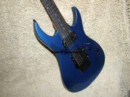 Custom 7 Strings guitar wholesale Electric Guitar Blue High Quality guitar Free shipping