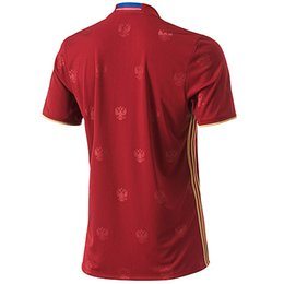 Wholesale 16 Russia home red football jerseys soccer sets designer short sleeve sports uniforms adult s outdoor winter soccer jerseys