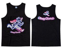 Men's Play Cloths tank brand printing vest men Streetwear fashion designer vest for mens tops silk tanks 8 style free shipping