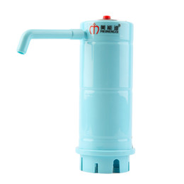 Wholesale Fashion bottled water clean bucket water dispenser electric automatic pumping device water pressure pump waste absorbing hot