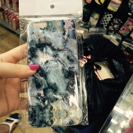 Wholesale Marble Design Cell Phone Cases Soft Smooth TPU Phone Cover Cases for iphone S S PLUS