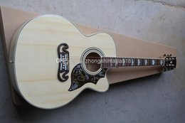 Free shipping Top quality Solid spruce Top Acoustic Guitar natural wooden acoustic guitar