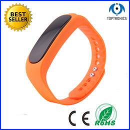 "2016 Hot Selling 0.84"" OLED High quality waterproof Bluetooth 4.0 Smart Bracelet silicone TPU smart bluetooth watch wristbands"