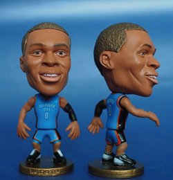 Wholesale Miniverse America Basketball Team Thun Number Russel Westbrook Doll Resin CM Height Blue Kit