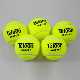 Wholesale and Retail Pieces Yellow Tennis Balls Outdoor Training Beginners Tennis Ball Single Package With Elastic String