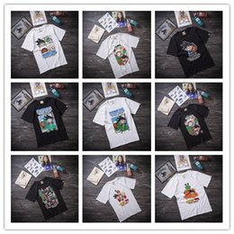 Wholesale 2016 Men s high quality cotton Anime short sleeve t shirt Dragon Ball cartoon couple shirt KaKarotto Goku men s O neck t shirt