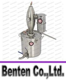 Wholesale 45L Stainless Home equipment wine Distillation Boiler Brewing Equipment brew alcohol whisky distiller baijiu Healthy LLFA88