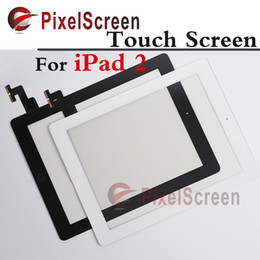 Wholesale Tested Original For ipad Touch Screen Digitizer Touch Glass With Home Button Button Flex Black White