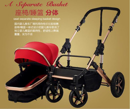 Wholesale 2016 High Quality Original Two Way Push Ultra Light Free kids Baby Stroller Colors free Gifts Baby Car