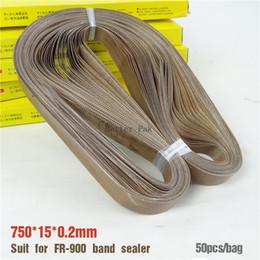 Wholesale Band sealer teflon belt size mm for Continuous Band Sealer Solid ink band sealer bag high temperature tape