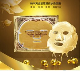 Wholesale Crystal gold collagen protein baby cleansing mask Whitening hydrating