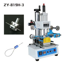 Wholesale ZY H Automatic Stamping Machine pressure words machine LOGO stampler automatic Numbering machine V Hz