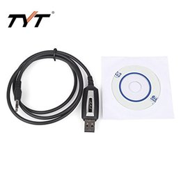 Wholesale Original USB Programming Cable With Software Disk For Mobile CB Two Way Radio TYT TH TH D UHF VHF