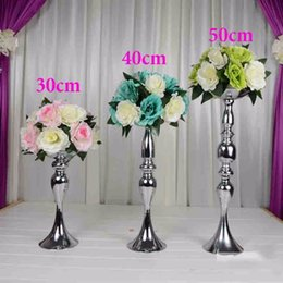 50 cm ,New luxury mermaid flower stand for wedding decoration metal iron flower stand centerpiece event party decoration