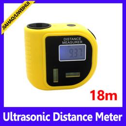Wholesale Yellow handheld OEM best laser measure m ultrasonic distance meter laser MOQ