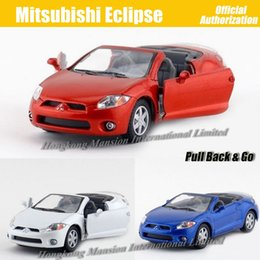 1:36 Scale Alloy Metal Diecast Car Model For MITSUBISHI Eclipse Collection Model Pull Back Toys Car